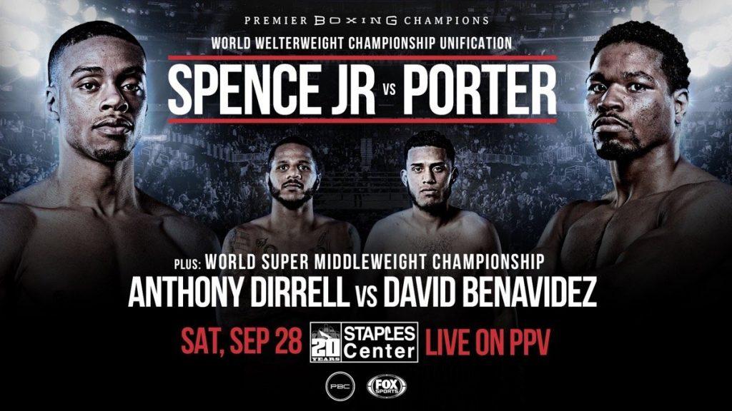 Soence vs porter boxing results