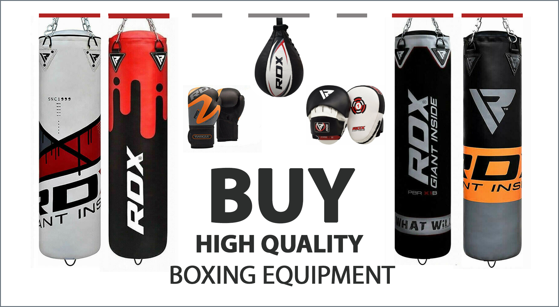 Quality boxing equipment